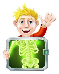 Zdjęcie rtg zęba uosoby nieletniej