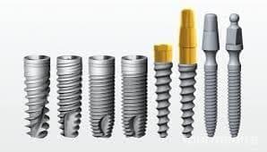 implanty natychmiastowe , jedno idwufazowe